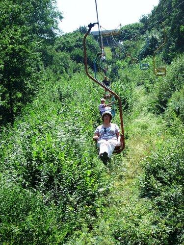 Спускаемся с Кизиловой горы