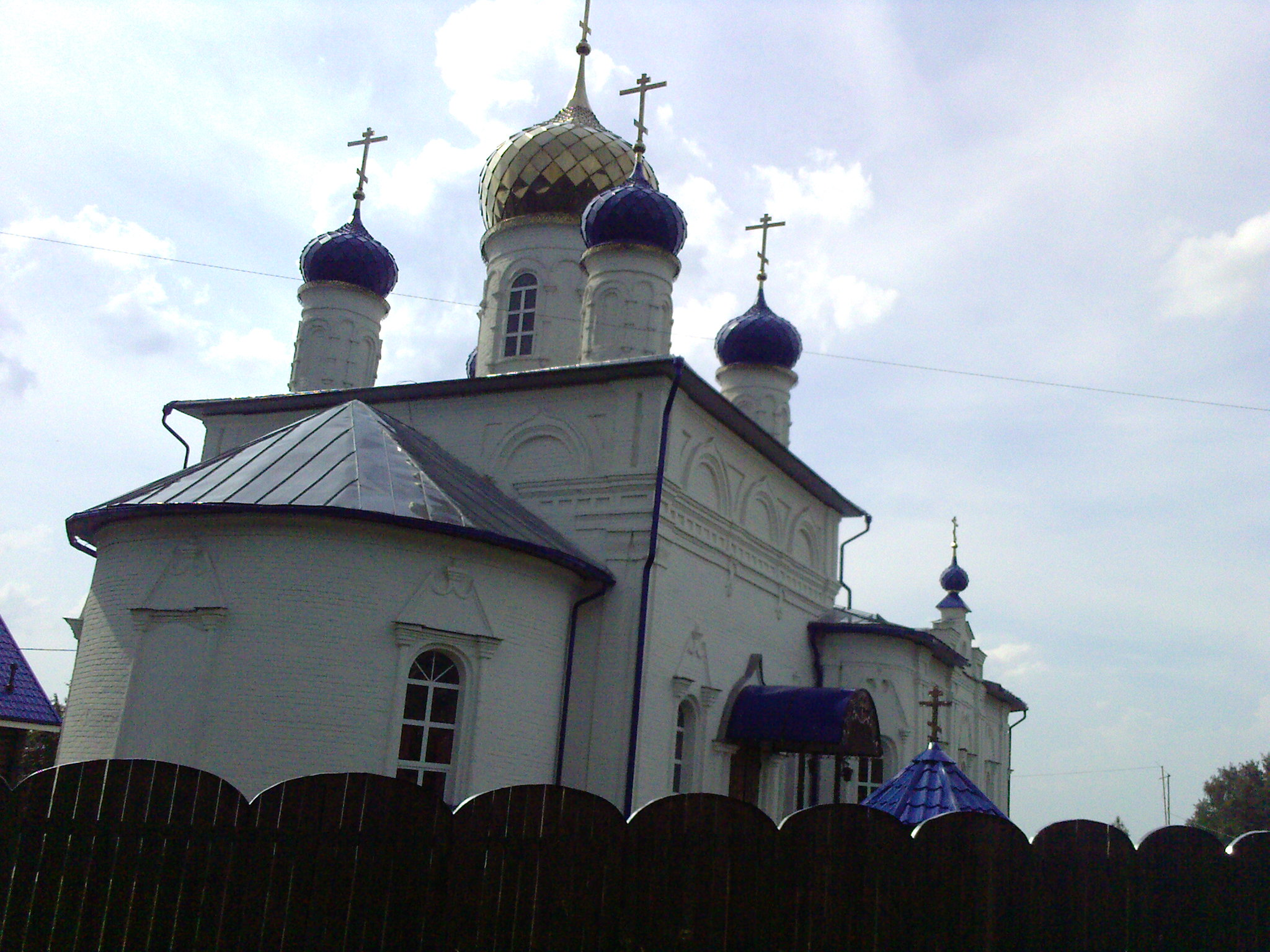 Православный Храм Всех Святых в деревне Широково
