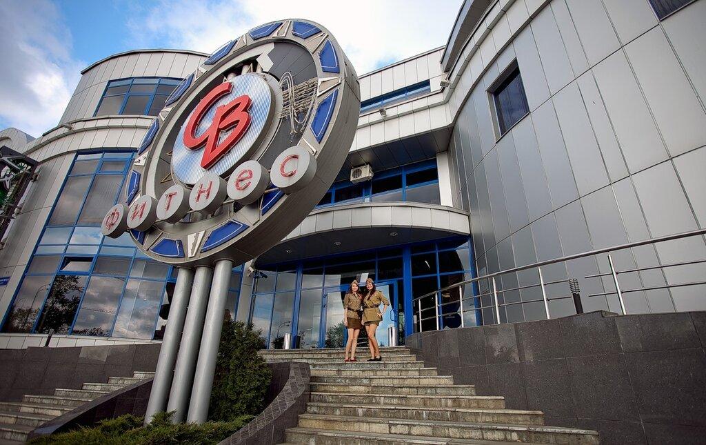 В День Победы посетителей СВ-фитнеса в Одинцово встречали на «рецепшене» девушки в военной форме времён Великой Отечественной войны…