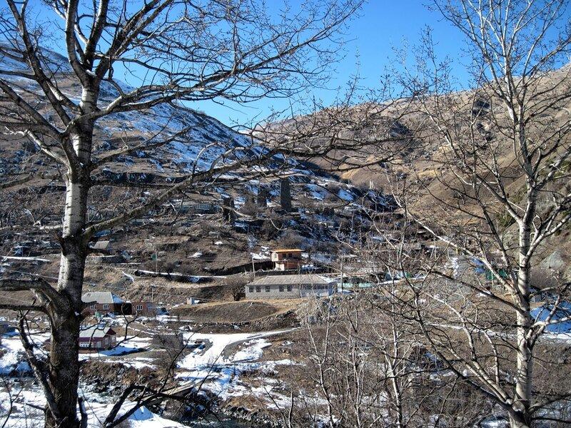 Горное село Харисджин