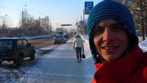 Фев 2011, прогуливаюсь по холодному Архангельску