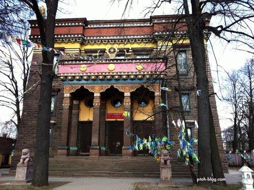 буддийский храм, санкт-петербург