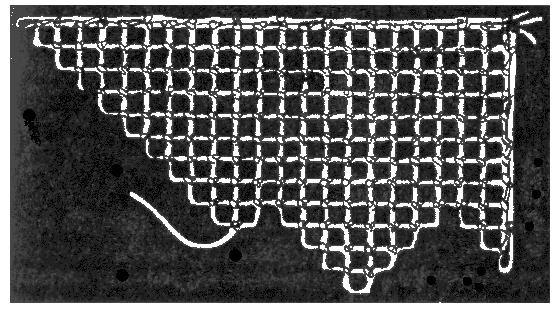 Игла для вышивки по сетке