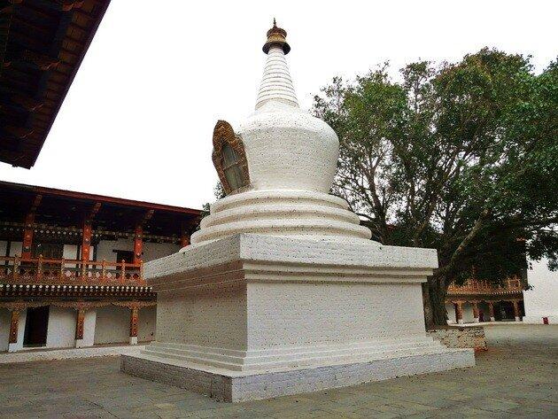 Монастырь Пунакха Дзонг. Бутан