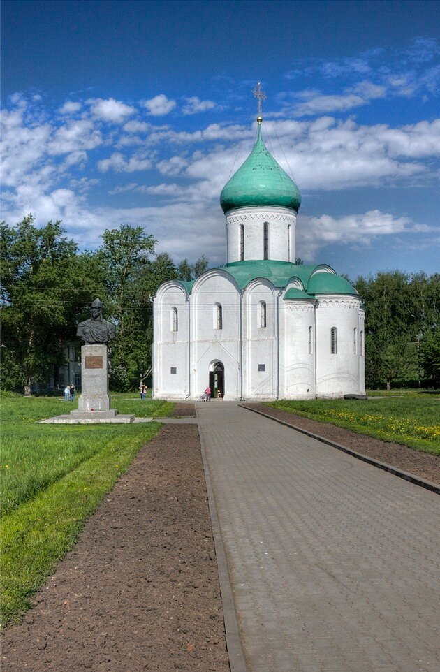 Спасо-преображенский собор. Переславль-Залесский