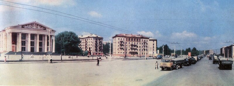 Площадь Ленина, 1967 год