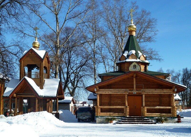 Церковь Богоявления Господня в Жаворонках