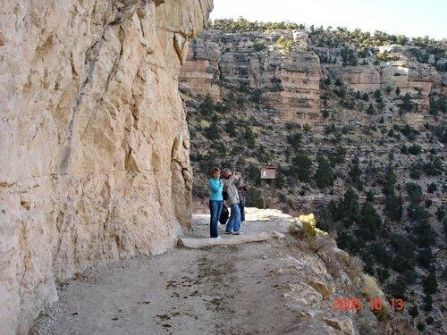 А вы пойдете по такой тропе Гранд-каньона?