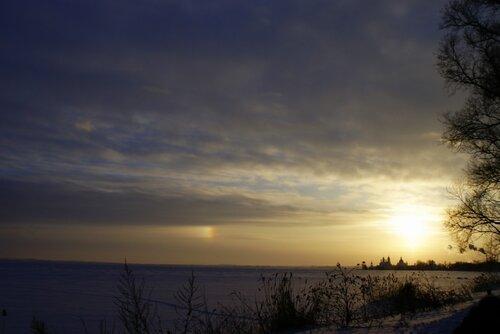 Ростов, закат на озере Неро