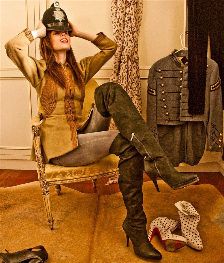 модель Коко Роча / Coco Rocha, фотограф Claiborne Swanson Frank