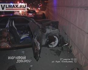 Во Владивостоке произошло серьезное ДТП