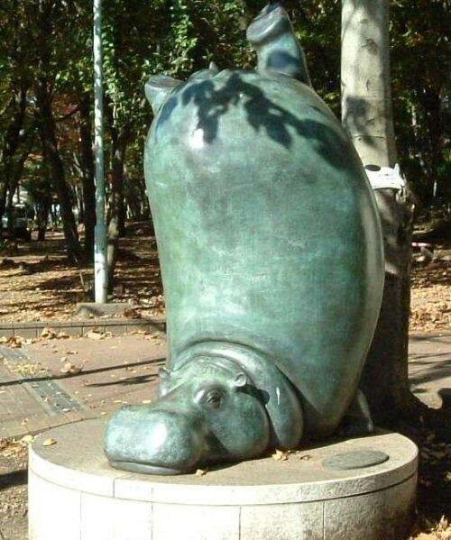 Памятники диким животным
