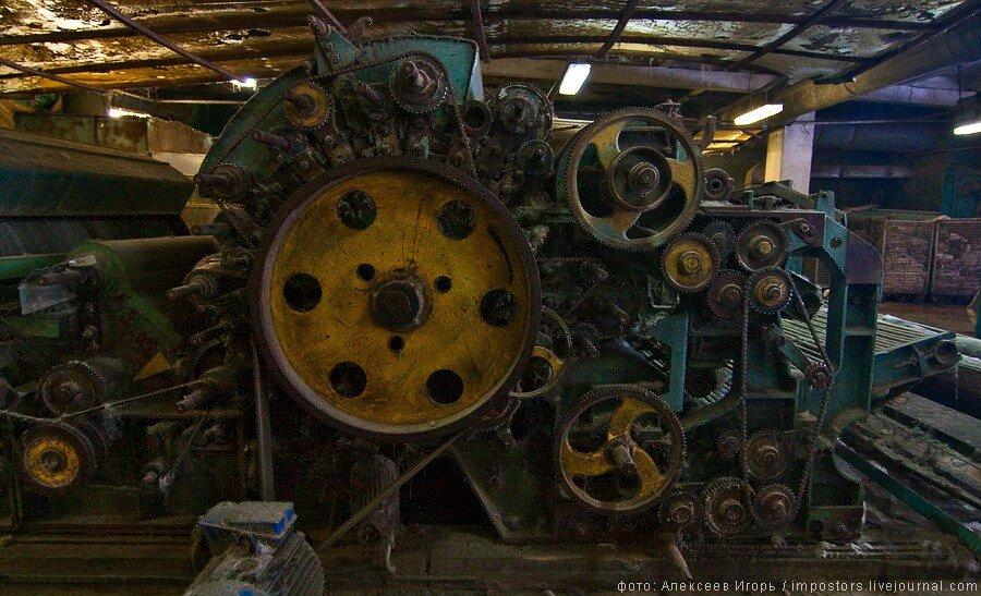 Фабрика изготовления валенок.