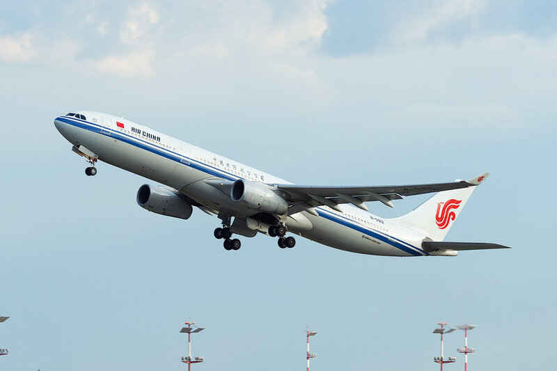 Airbus A330-343 (B-5912) Air China D809344a