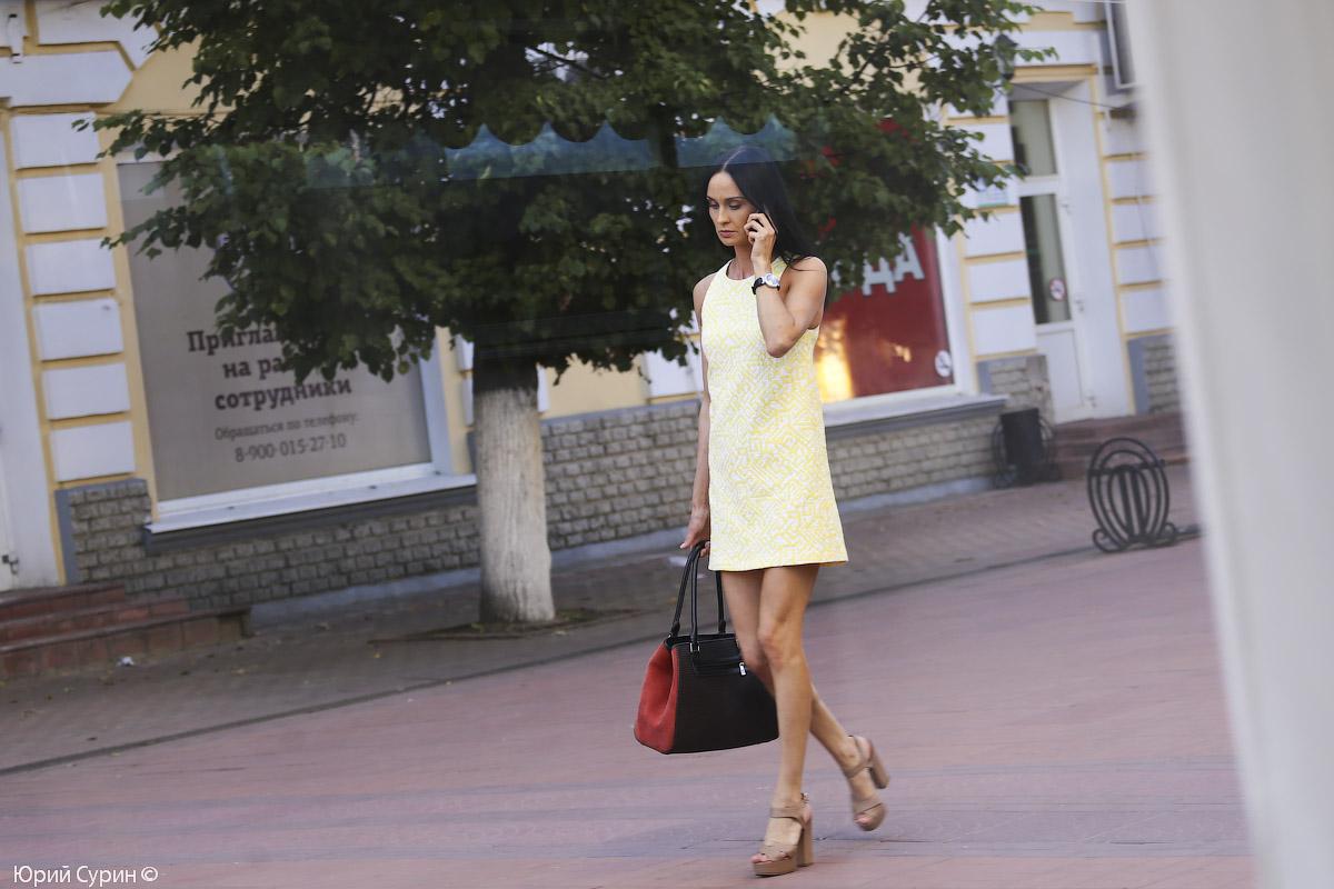 Девушки на улице, девушки Твери