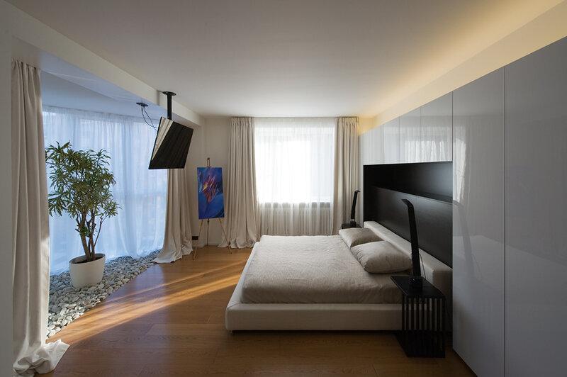 Уютные апартаменты в Москве от Алексея Николашина