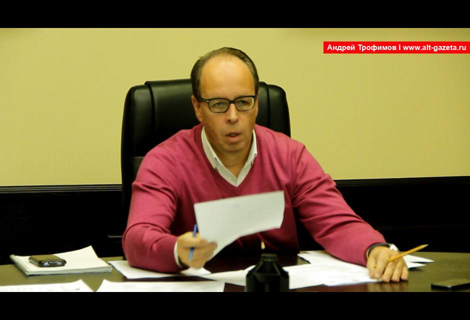 Александр Сивов ответил на вопросы жителей 27 дома