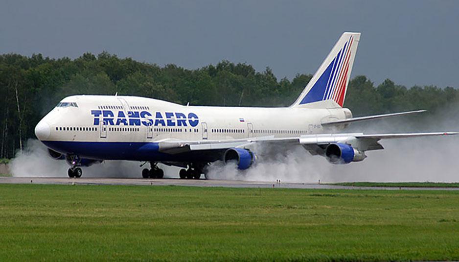 26 октября совершена жесткая посадка компании «Трансаэро»