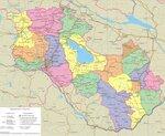 Карта Армавира подробная: районы, названия улиц