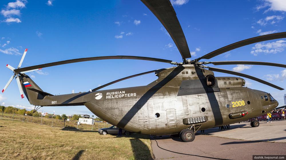 Новейшая версия транспортного вертолёта
