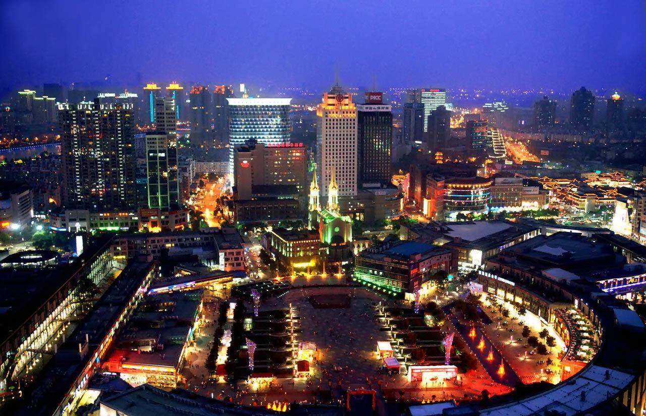 Китай город фото