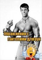 Книга Упражнения с гантелями для рук (2011) SATRip avi 156Мб