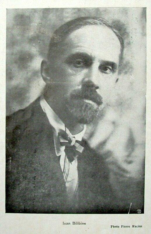 Билибин в 1920-е годы