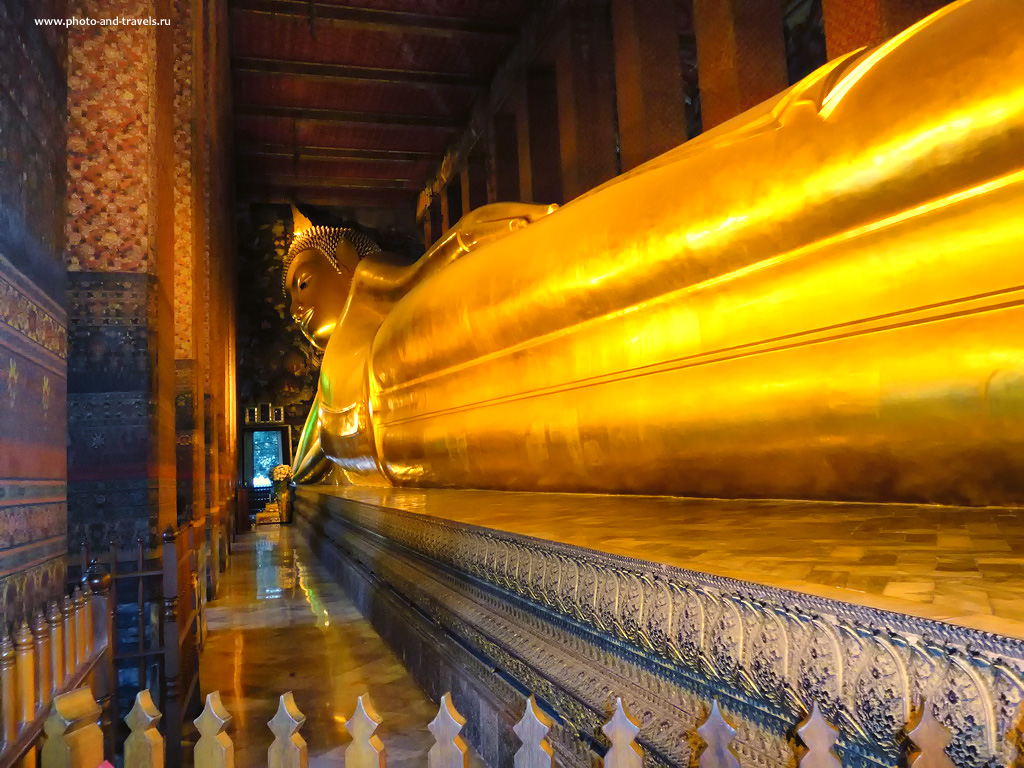 23. Храм Возлежащего Будды (Ват Пхо, Wat Pho) в Бангкоке. Отчеты туристов о поездке в Таиланд.