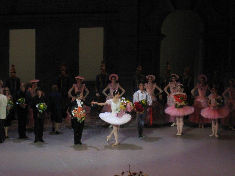 """"""" Коппелия"""", 8 июля 2012 г., балет Р.Пети, премьера в МАМТе"""