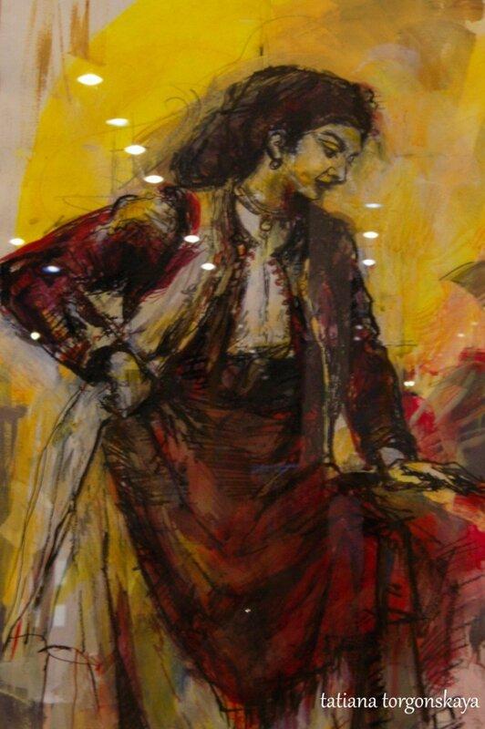 Картина Тани Топузоски