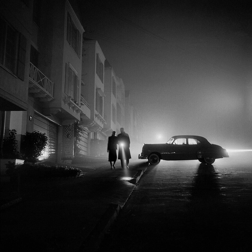 1953. Туманная ночь