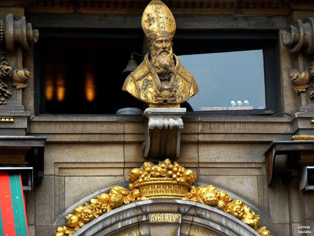 Покровитель пекарей - Св. Губерт.