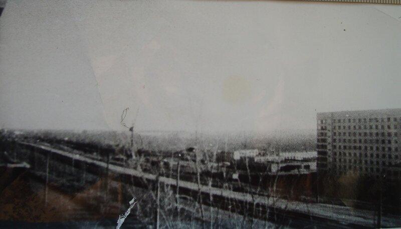 Вид с пр. Победы на город