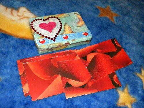 Коробочка для карточек-тостов
