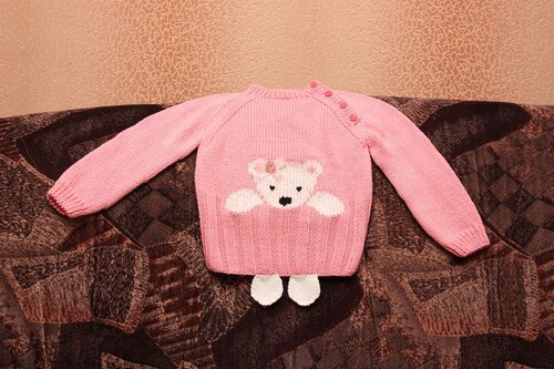 свитер кимоно