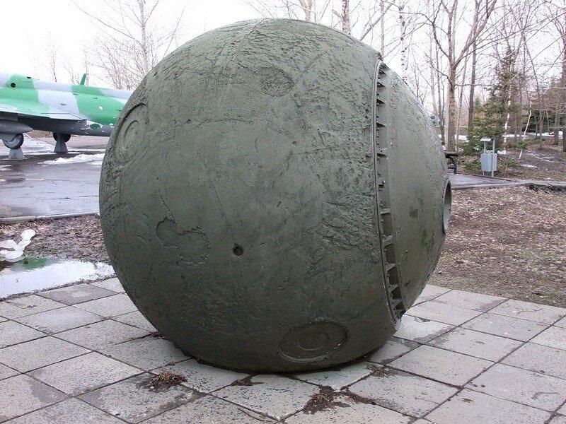 Спускаемый космический аппарат.