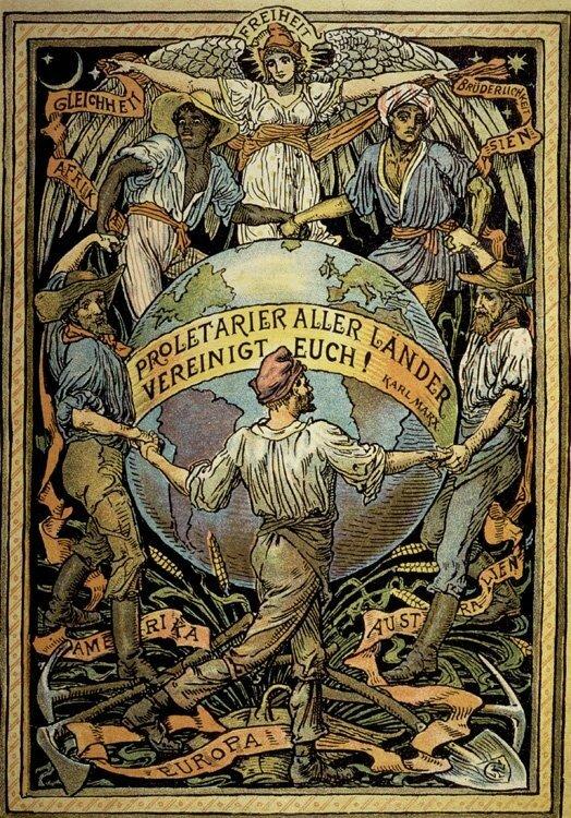 Пролетарии всех стран, объединяйтесь! 1889