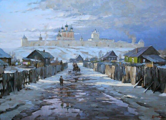 Степан Нестерчук. Начало весны. Переславль-Залесский (2008)