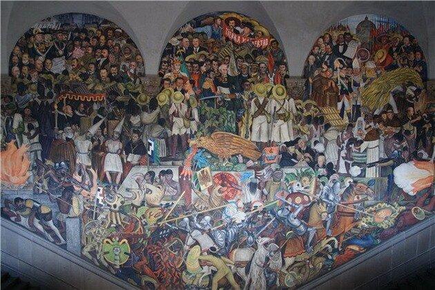 Дворец Изящных Искусств. Мехико