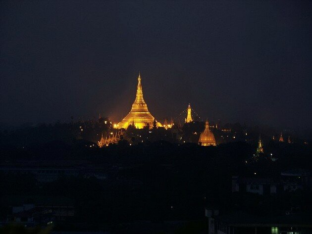 Пагода Шведагон (Shwedagon Pagoda). Мьямна