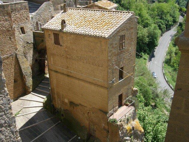 Город Питильяно (Pitigliano). Италия