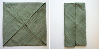 Салфетка в форме рубашки