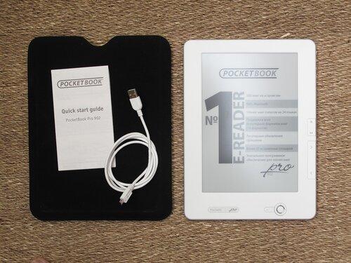 Pocketbook Pro 902 - комплект поставки
