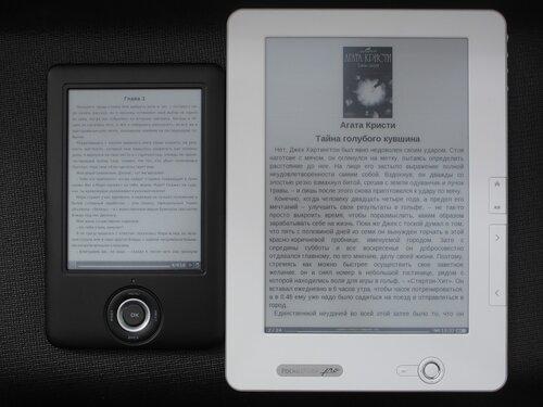Pocketbook Pro 902 vs ONYX BOOX A61S Hamlet с более контрастным экраном