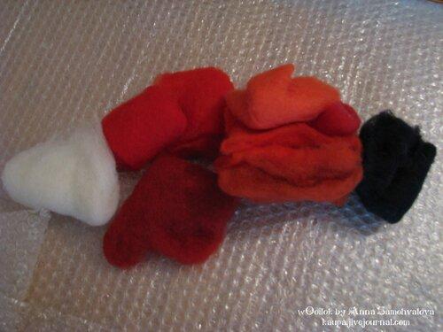 Урок- валяные тапочки с маками
