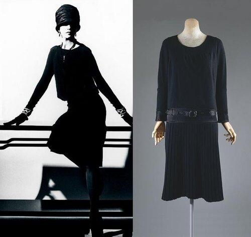 Маленькое черное платье (50 фото) Модные новинки