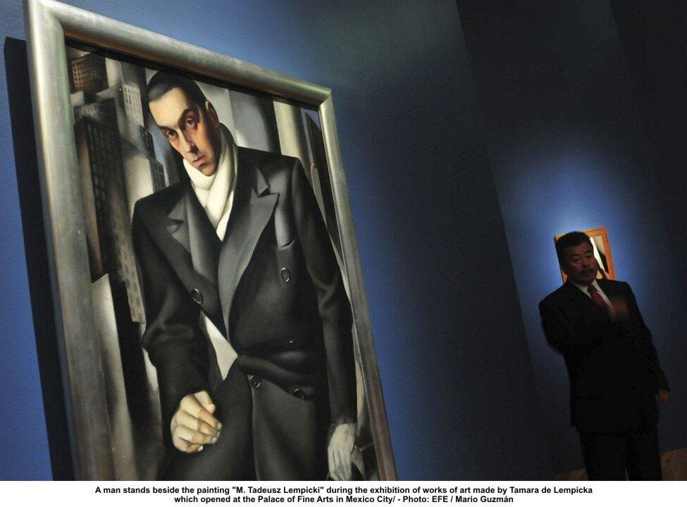 Выставка в Мехико. Муж—адвокат Тадеуша Лемпицки (Tadeusz Łempicki).http://veniamin1.livejournal.com/profile