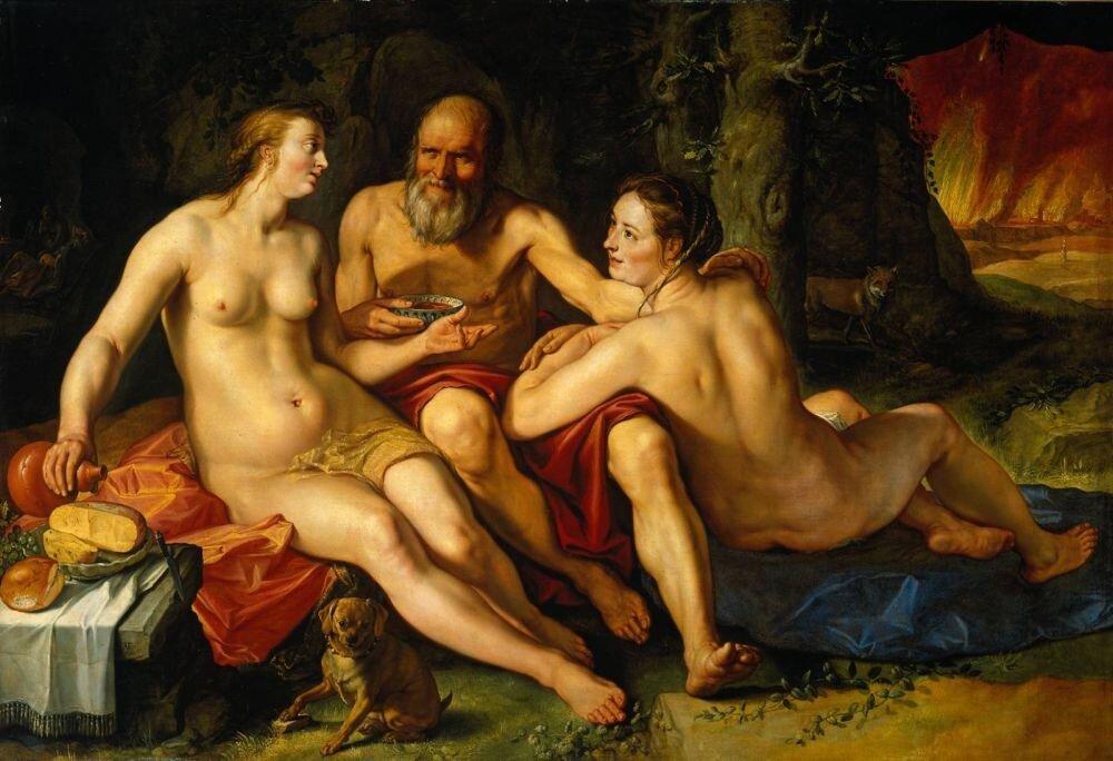 Гольциус, Хендрик, Лот и его дочери,1616 г.http://veniamin1.livejournal.com/profile