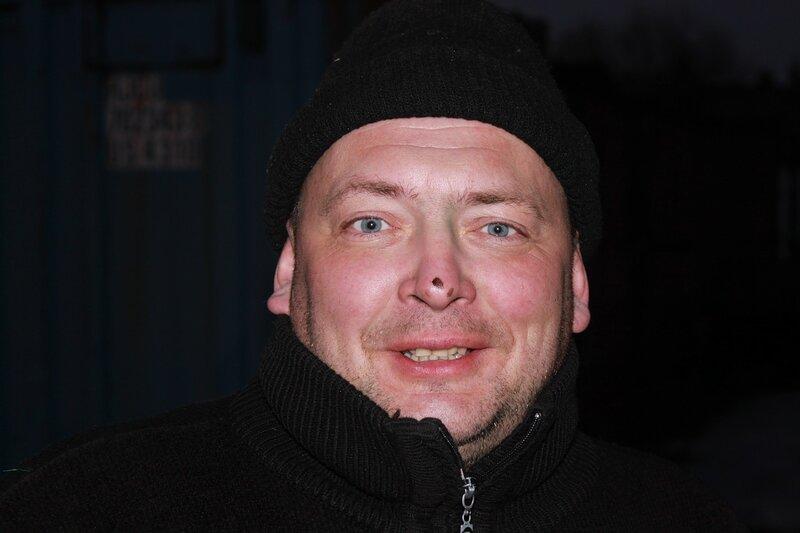 Счастливое лицо Олега