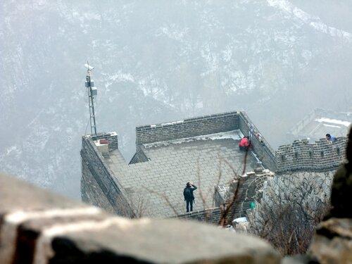 Не туристическая китайская стена Ух!